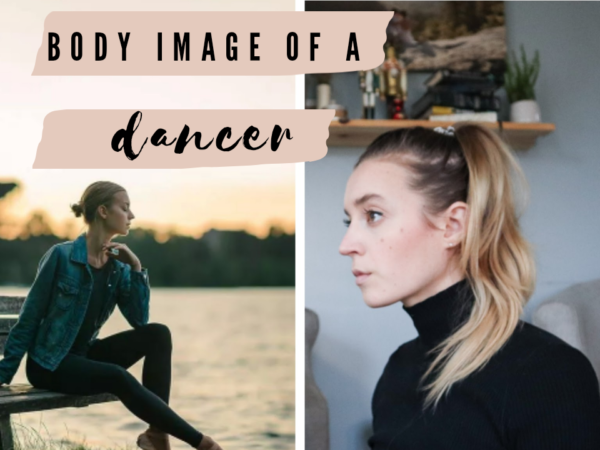 Body image of a dancer